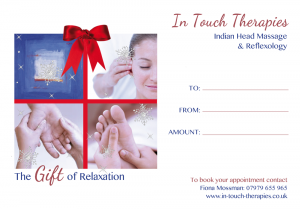 In Touch Therapies Christmas Voucher
