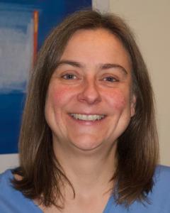 Fiona Mossman, provides reflexology and indian head massage