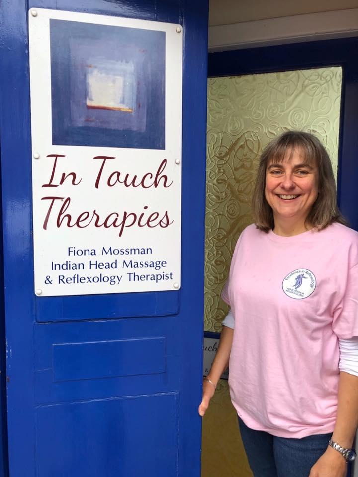 In Touch Therapies - Fiona Mossman - door shot (full)
